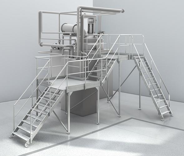 Lépcső és Pódium rendszer
