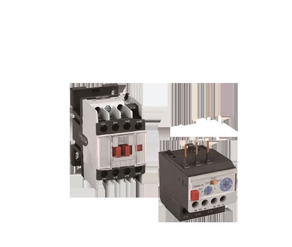 Mágneskapcsolók és hőkioldók